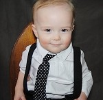 Baby Boy Neck Ties- Many Colors