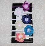 Set of 6 Sequin Flower Headbands