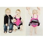 Hot Pink & Zebra Tank and Bloomers Outfits