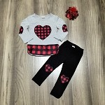 Buffalo Plaid Set